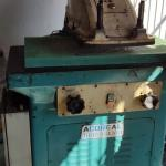 Balancim hidraulico para corte de couro tecido borracha