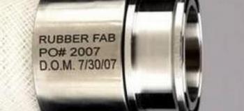 Gravação a laser em inox