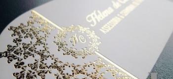Personalização em hot stamping